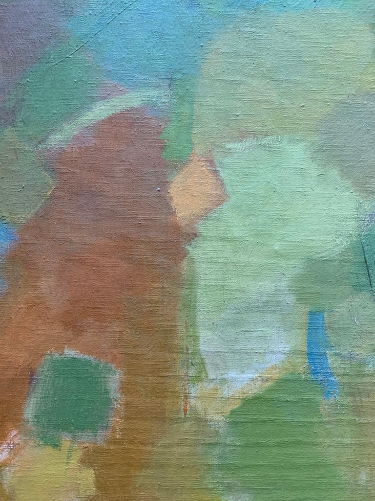 Landscape (abstract expressionist mid-century landscape) For Sale 1