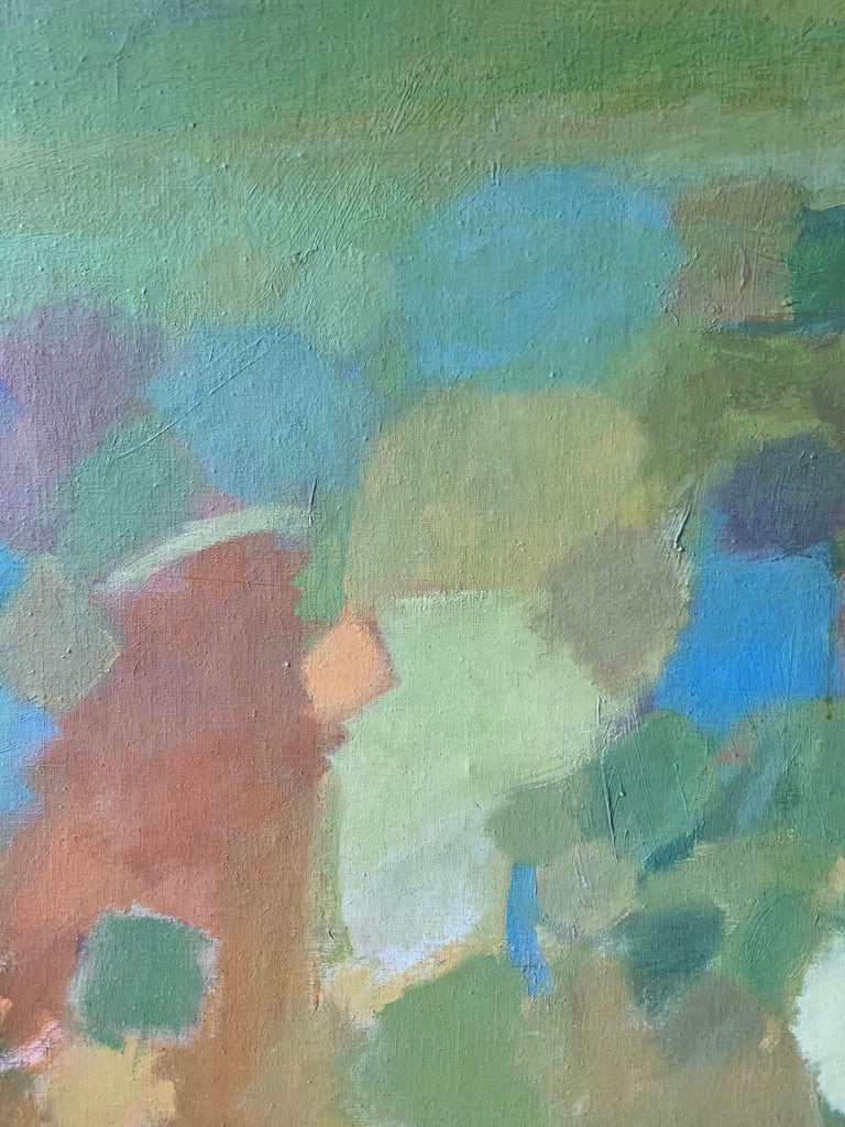 Landscape (abstract expressionist mid-century landscape) For Sale 3