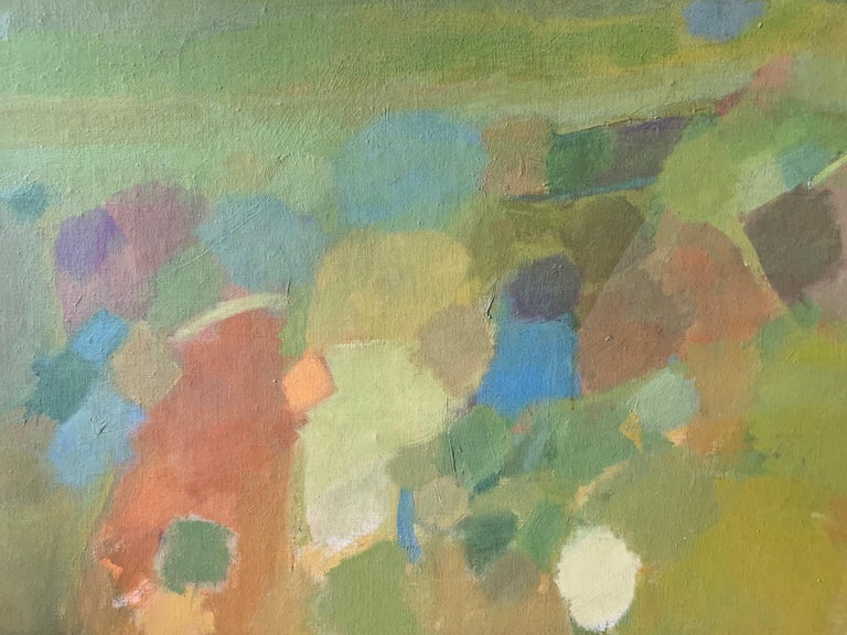 Landscape (abstract expressionist mid-century landscape) - Painting by Judith Ingram