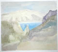 Armenia Landscape (abstract painting, Armenian Mountains)