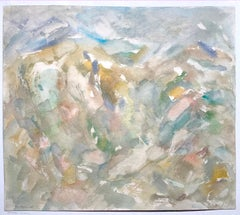 Russian Landscape (abstract painting)