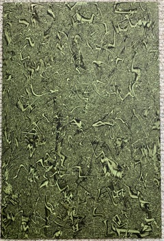Untitled (ER41) Abstract Expressionist painting