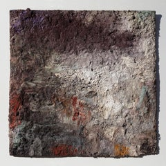 Terra Bruciata (Scorched Earth) # - Small Abstract Painting