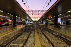 Covid 19 - Rome - Stazione Termini - 6:00 PM - Photograph of Rome Train Station