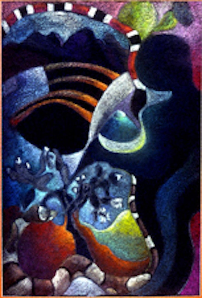 Jacquelyn Thunfors Abstract Painting - Your Love For Me