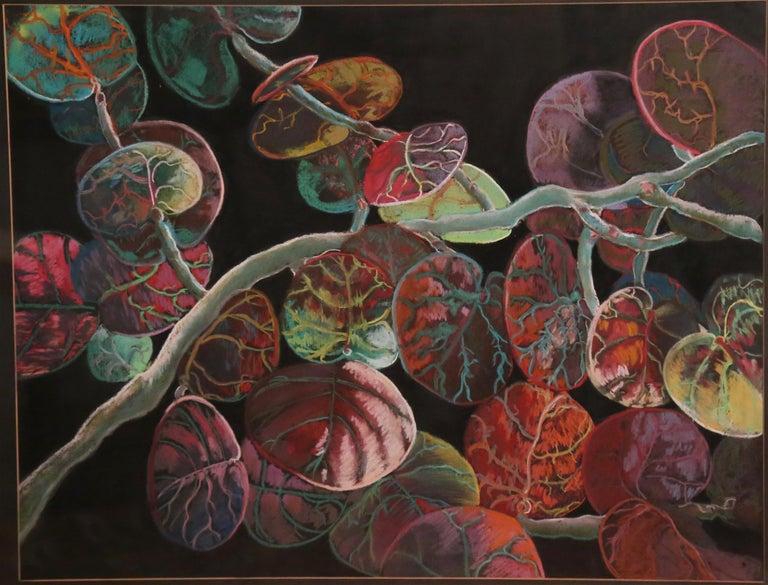 Jacquelyn Thunfors Landscape Art -  Seagrape....Deya, Mallorca, #1