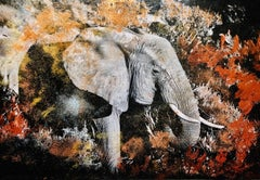 The Dust of Samburu Elephant