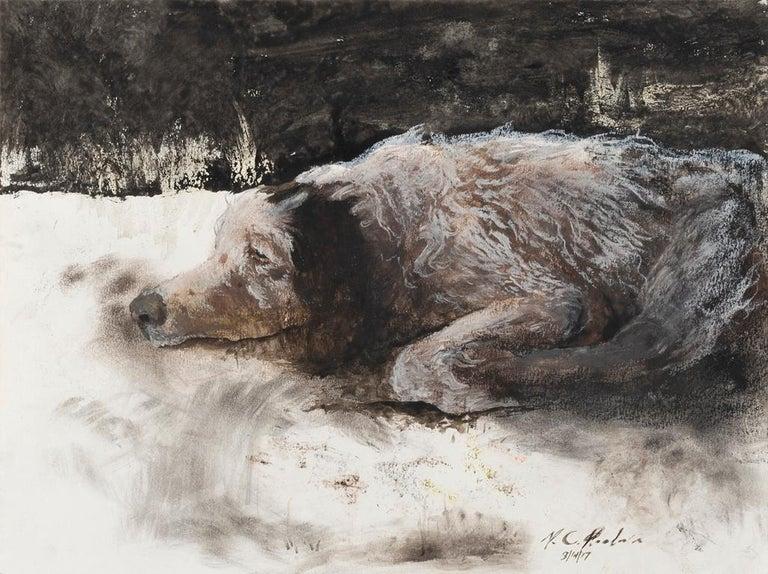 Miles Cleveland Goodwin Animal Art - Ole Duke