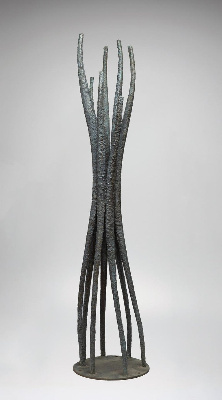Charles T. Williams Abstract Sculpture - Vertical Forms
