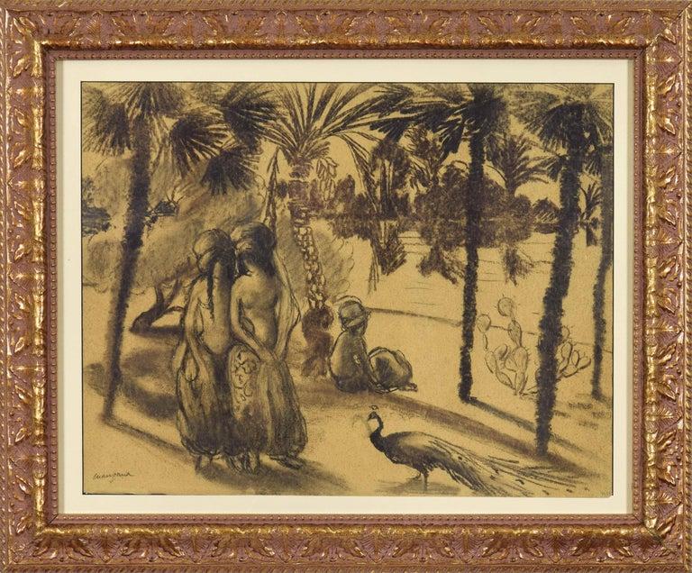 La Promenade - Art by Georges Henri Manzana Pissarro