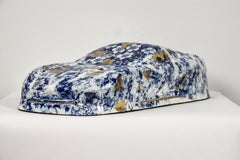 Delft Not Wheels by NAM TRAN - Ceramic, Sculptor, Contemporary, Car