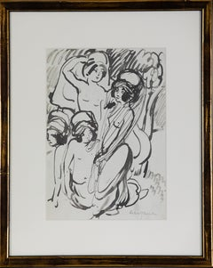 1920s Nude Drawings and Watercolours