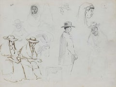 Drawing from Venezuela by Camille Pissarro