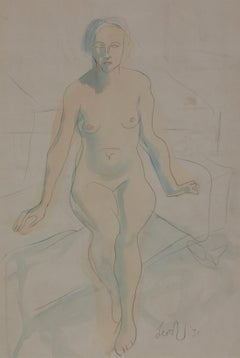 Seated Nude by Leon Underwood