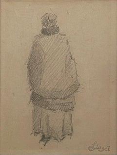 Femme de Dos by Louis Hayet