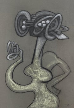 Personnage by Roberto Matta - Abstract figuration