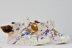 Just Wing It by NAM TRAN - Ceramic, Sculptor, Contemporary, Shoes