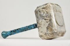 Mjolnir by NAM TRAN - Ceramic, Sculptor, Contemporary, Hammer