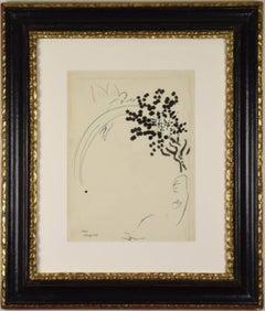 L'Arc en Ciel by MARC CHAGALL - Original work by Modern master