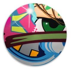 Less Than Zero #2, John CRASH Matos, Spray Paint on Canvas, Figurative/Graffiti
