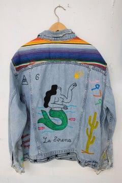 The Mermaid_Jada+Jon_2021 Reworked Vintage Levi's Denim Jacket (Unique)_Unisex L
