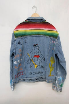 The Little Devil_Jada+Jon_Reworked Vintage Levi's Denim Jacket (Unique)_Unisex L