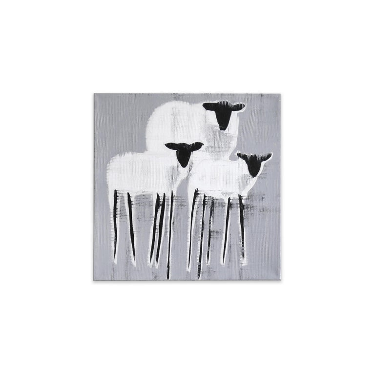 Julie Sneed Animal Painting - 16S NO. 6