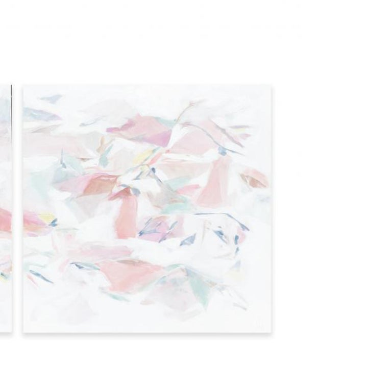 FALLING IV (DIPTYCH) - Abstract Painting by Taelor Fisher