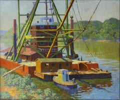 Sacramento River Dredger