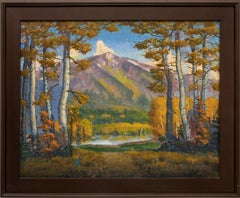 Mt. Sopris (Rocky Mountain Landscape Near Aspen, Colorado)