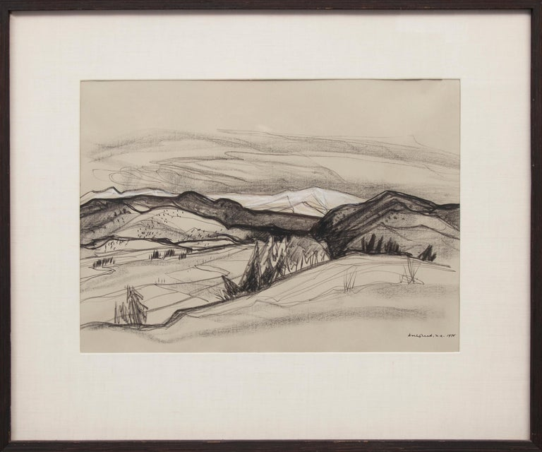 Doel Reed Landscape Art - Untitled (New Mexico Landscape)