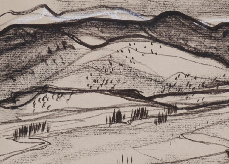 Untitled (New Mexico Landscape) - American Modern Art by Doel Reed