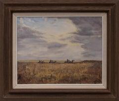 Modern Monsters (Harvesting Wheat, Colorado)
