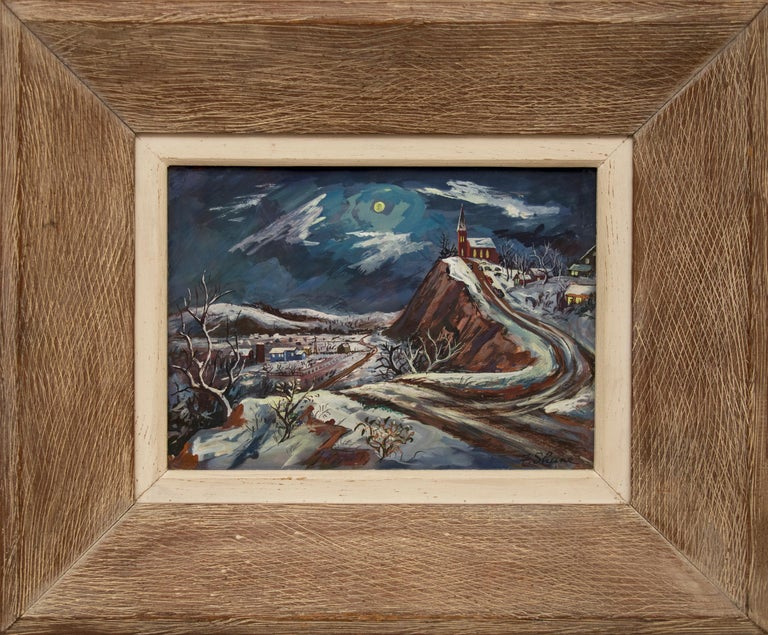 Silent Night - Painting by Fred Shane