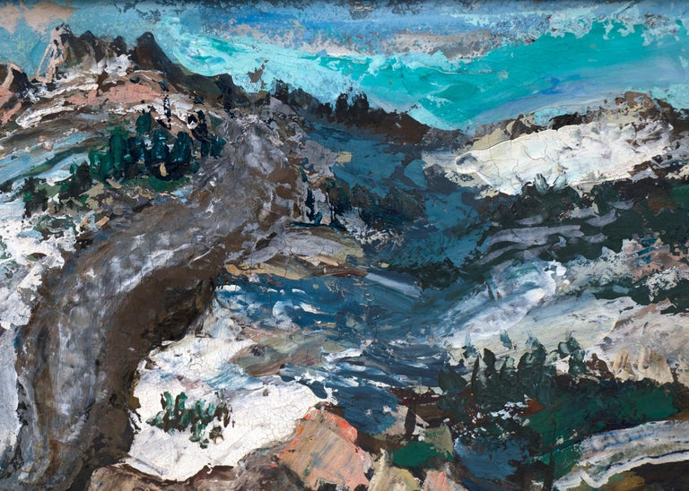 Untitled (Mountain Landscape with Snow) For Sale 1