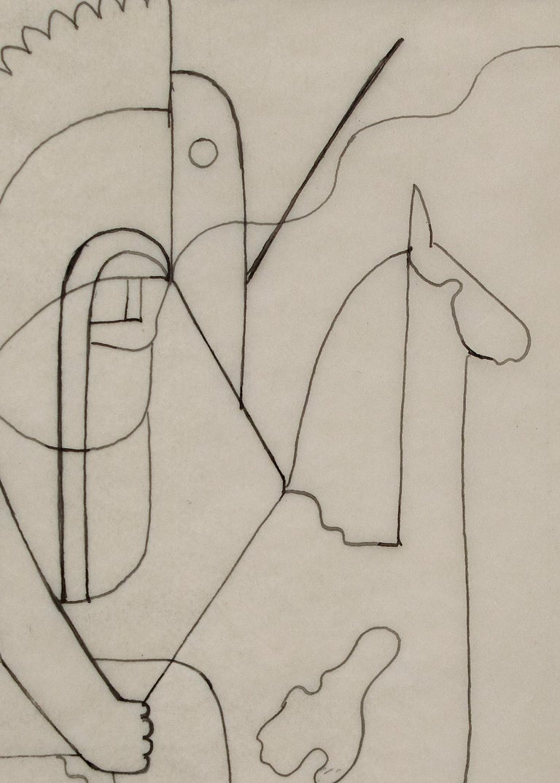 Original vintage 1933 drawing,