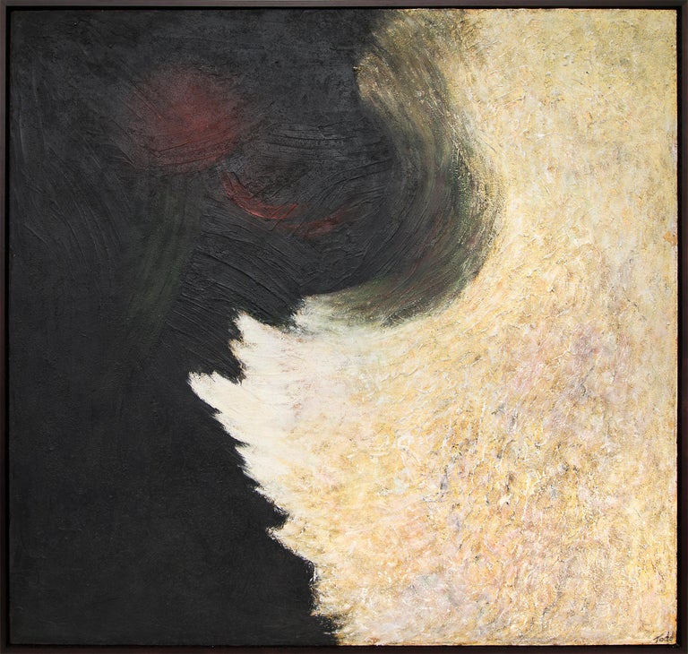 Ruth Todd Abstract Painting - The Intruding Void (Universal Landscape Series)
