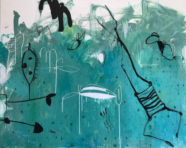 Jody Levinson Abstract Painting - There is Always More