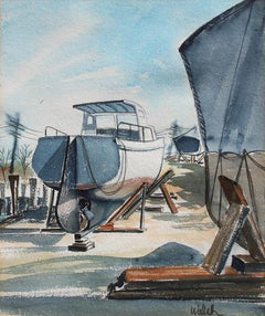 Drydocked Boats