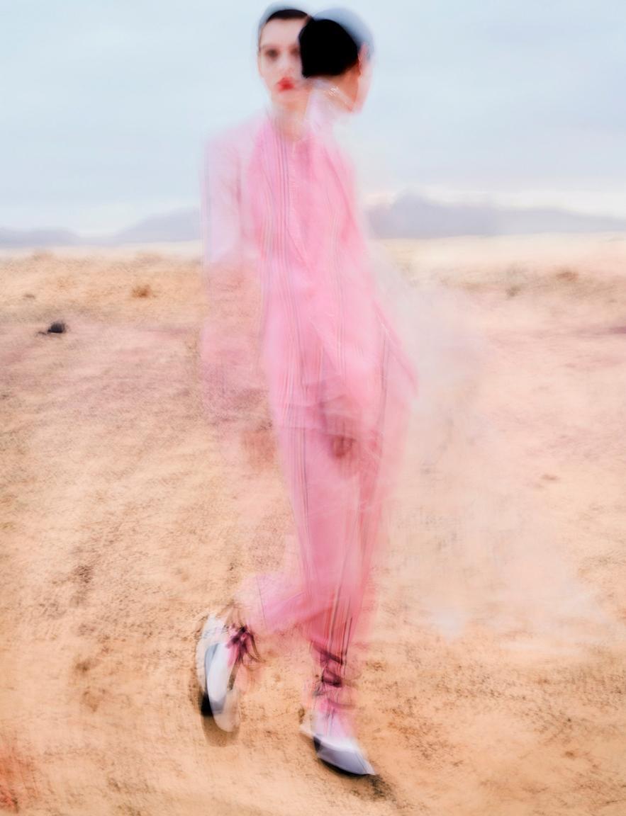 Amandine in Pink