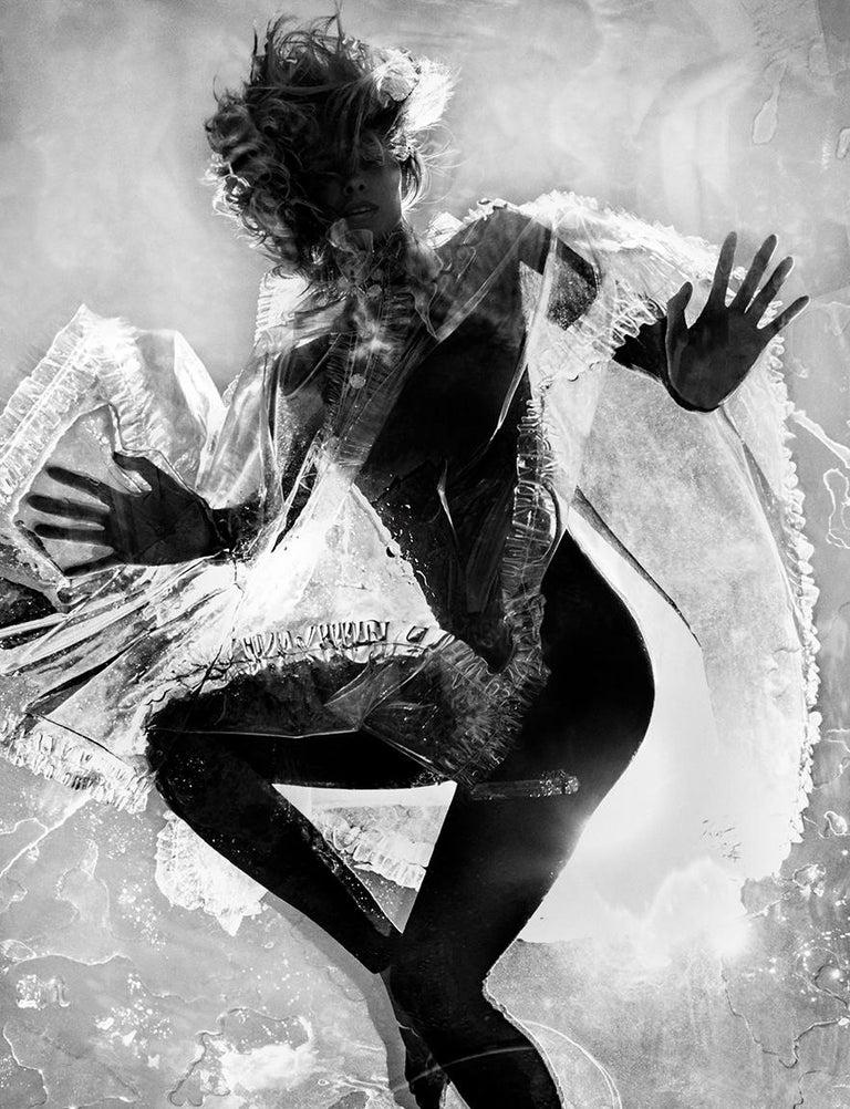 Txema Yeste Black and White Photograph - Silhouette