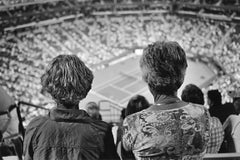 Spectators at night match, Indian Wells, California