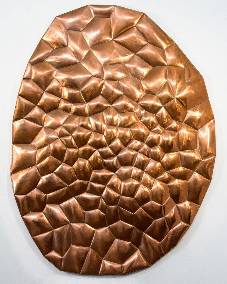 Jana Osterman Abstract Sculpture - Biomorphic Copper