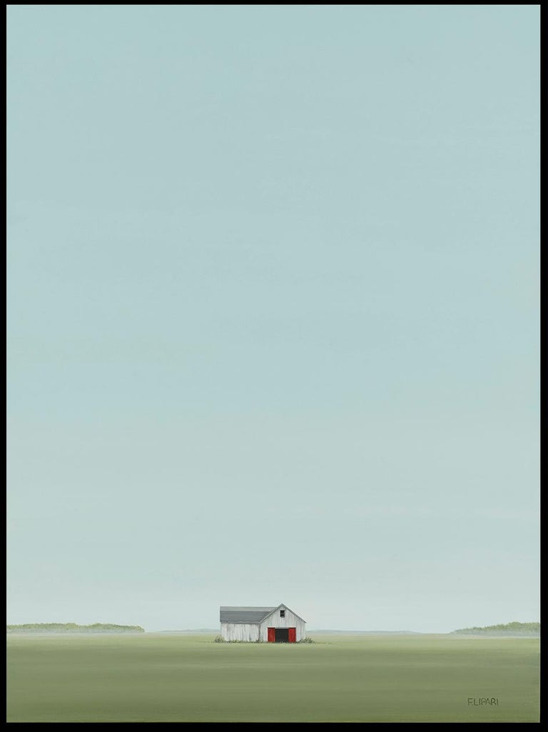 Hay Stash - Painting by F. Lipari