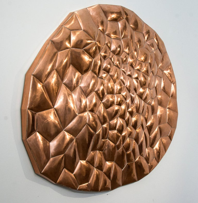 Biomorphic Copper - Sculpture by Jana Osterman