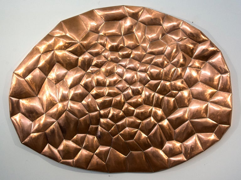 Biomorphic Copper - Contemporary Sculpture by Jana Osterman