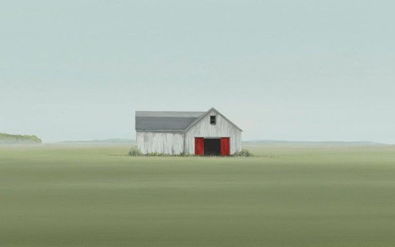 Hay Stash - Contemporary Painting by F. Lipari