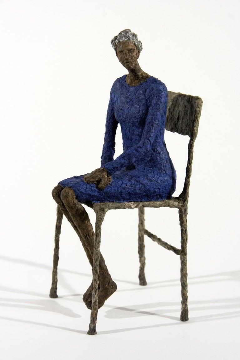 Attente dames jaune et bleu For Sale 2