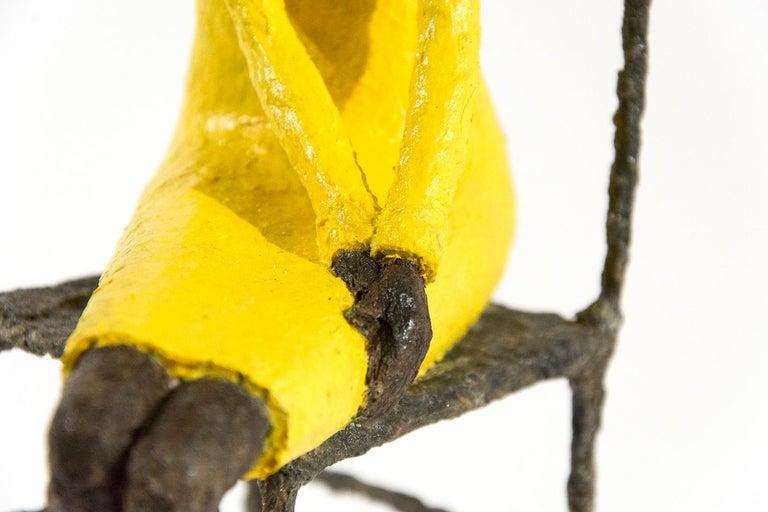 Attente dames jaune et bleu For Sale 3