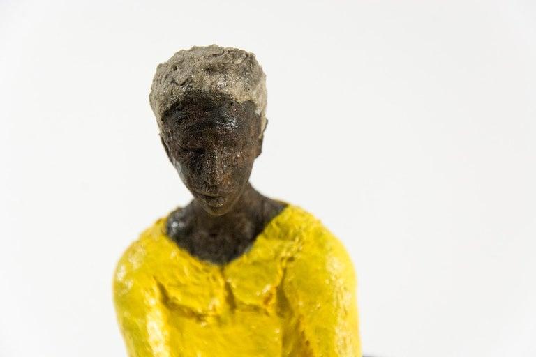 Attente dames jaune et bleu For Sale 5
